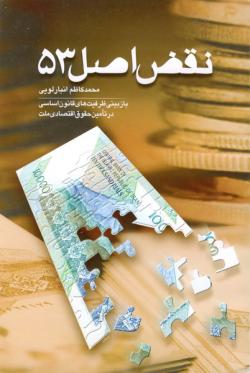 نقض اصل 53 قانون اساسی (بازبینی ظرفیت های قانون اساسی در تامین حقوق اقتصادی ملت)