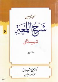 ترجمه و تبیین شرح اللمعه - جلد ششم: متاجر