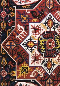 دفتر ایرانی نقوش سنتی: 100 برگ تک خط شومیز - طرح اول