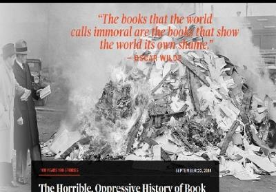 ماجرای وحشتناک کتاب سوزی در آمریکا
