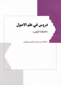 دروس فی علم الاصول - جلد اول