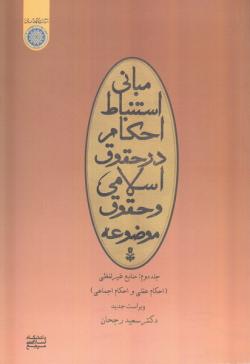مبانی استنباط در حقوق اسلامی و حقوق موضوعه - جلد دوم: منابع غیر لفظی