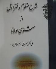 شرح منظوم دفتر اول از مثنوی مولانا