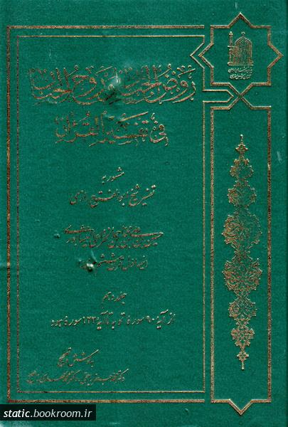 روض الجنان و روح الجنان فی تفسیر القرآن - جلد دهم