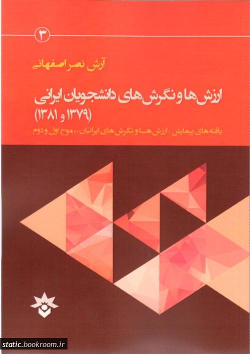 ارزش ها و نگرش های دانشجویان ایرانی: گزارش داده های دانشجویی دو موج پیمایش ملی «ارزش ها و نگرش های ایرانیان» در سال های 1379 و 1381