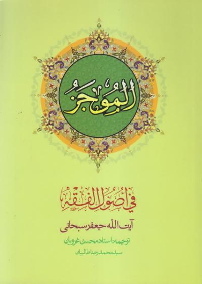 ترجمه الموجز فی اصول الفقه - جلد اول